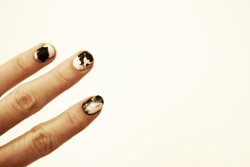 beauty: splash nails