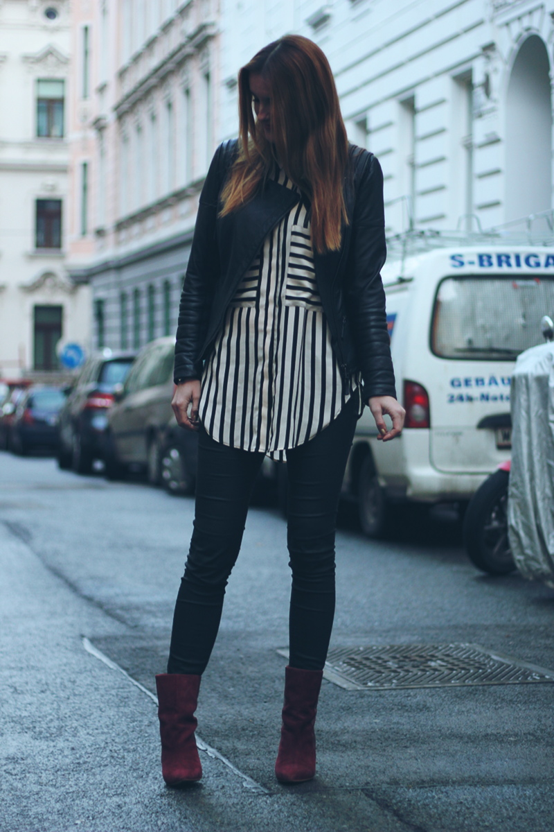 ootd: stripes – not only trousers
