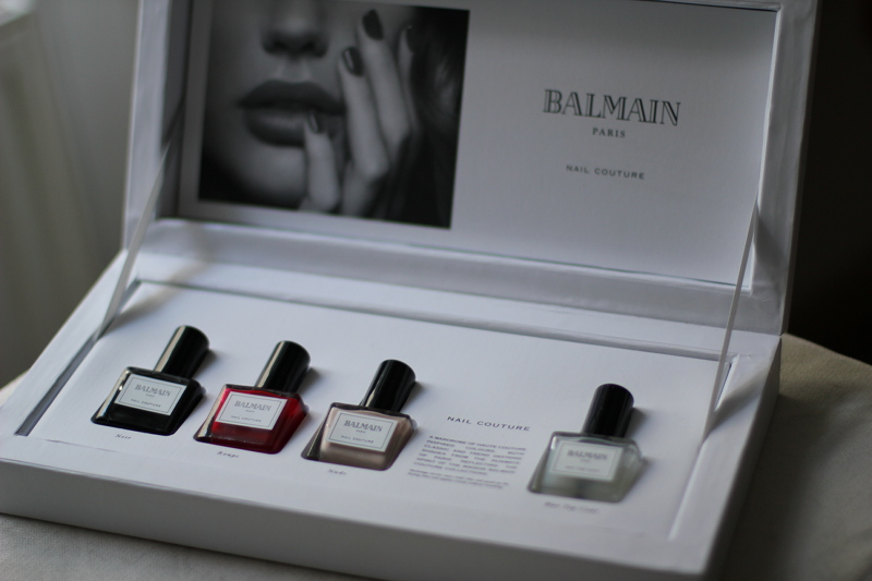 polish: balmain nail couture
