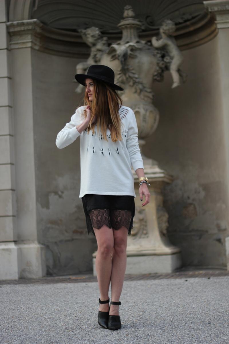 zara lace dress recap