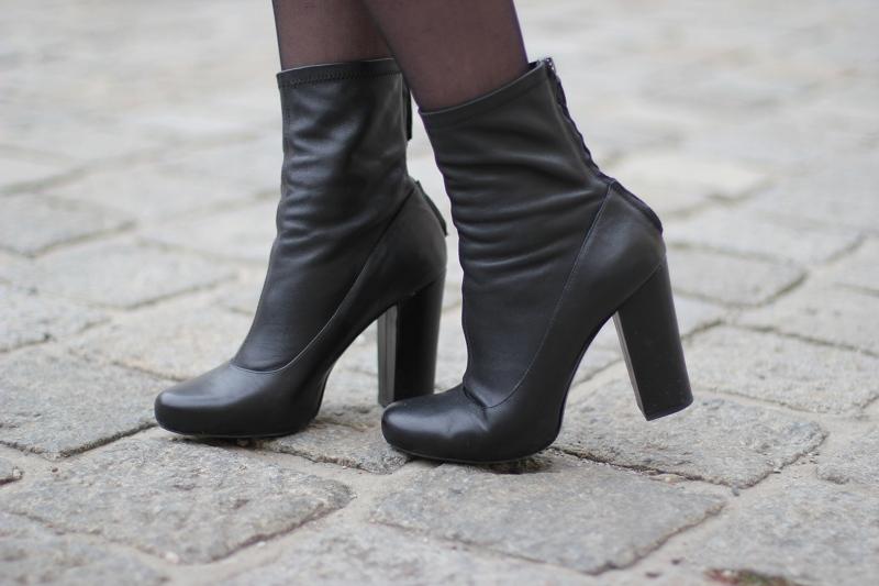 ootd: zara boots