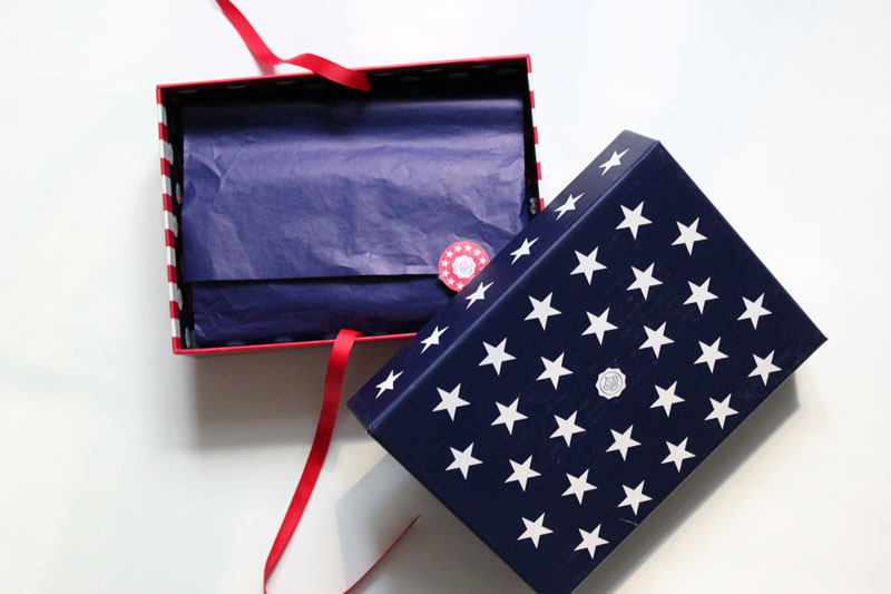 beauty: glossybox june 2014 stars and stripes