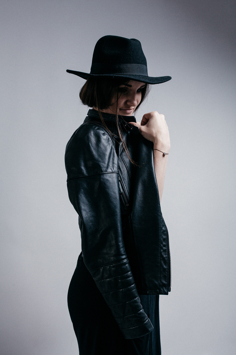 leather editorial
