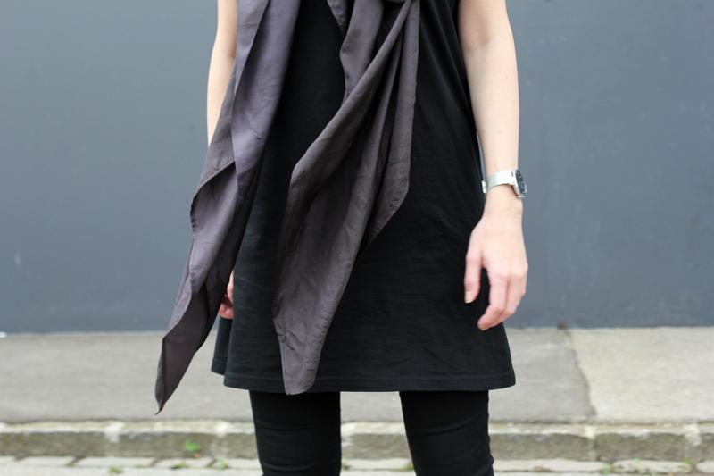 DIY silk scarf