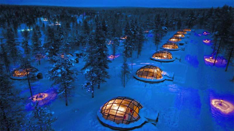 Glasiglus Kakslauttanen Resort Lapland
