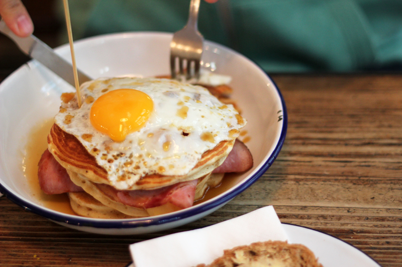 ham so eggsited breakfast club london
