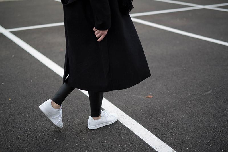 streetstyle allwhite sneakers adidas stan smith