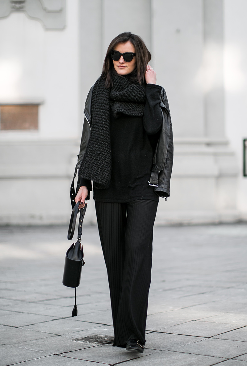 fashionblog austria worry about it later pleated pants hm trend