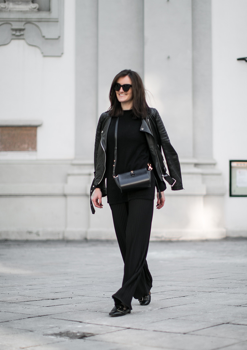 pleated pants worry about it later hm trend streetstyle vienna