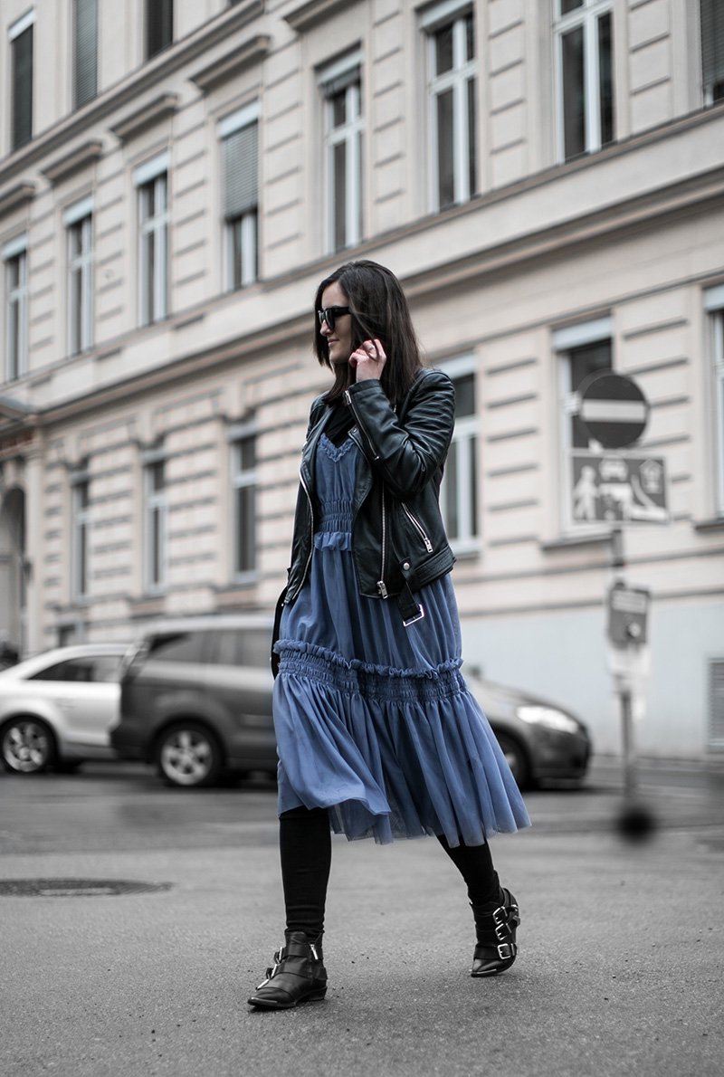 streetstyle vienna diesel leather jacket worry about it later