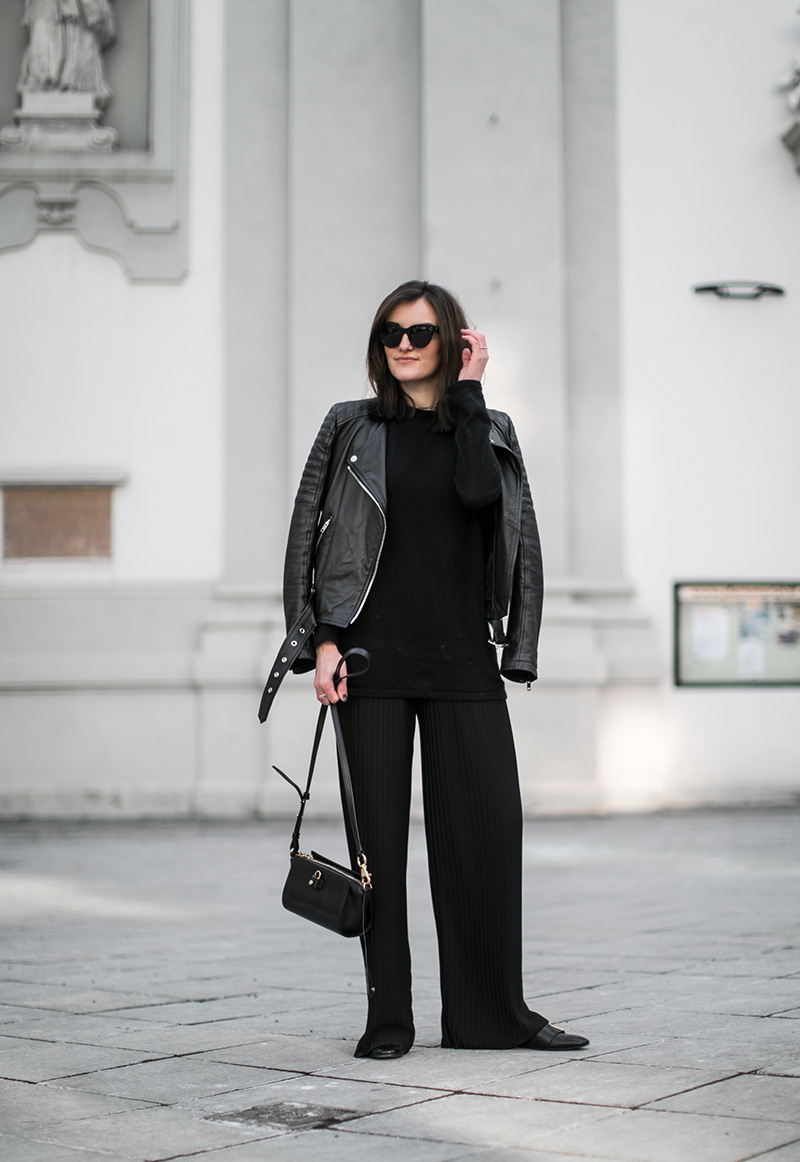 streetstyle vienna worry about it later pleated pants hm trend fashionblog austria