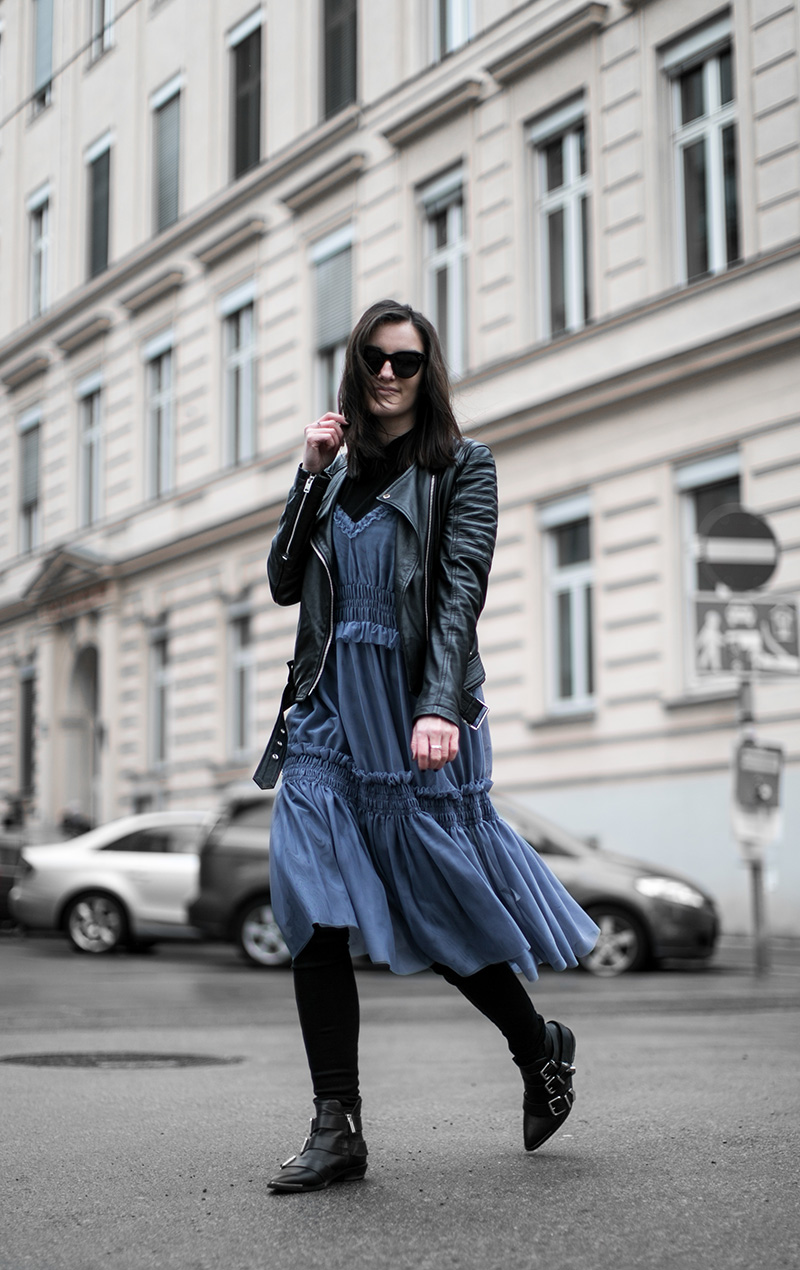 worry about it later streetstyle vienna hm dress