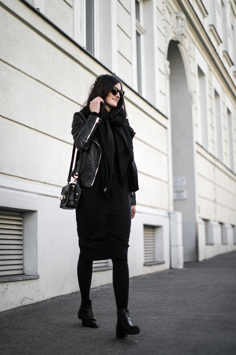 worry about it later armed angels wool dress streetstyle vienna