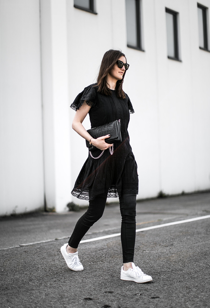 diesel dress everie cph emily bag all black outfit worry about it later fashionblog vienna