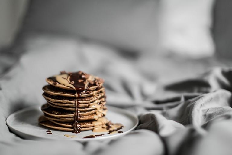 Pancakes mit Reismilch – vegan