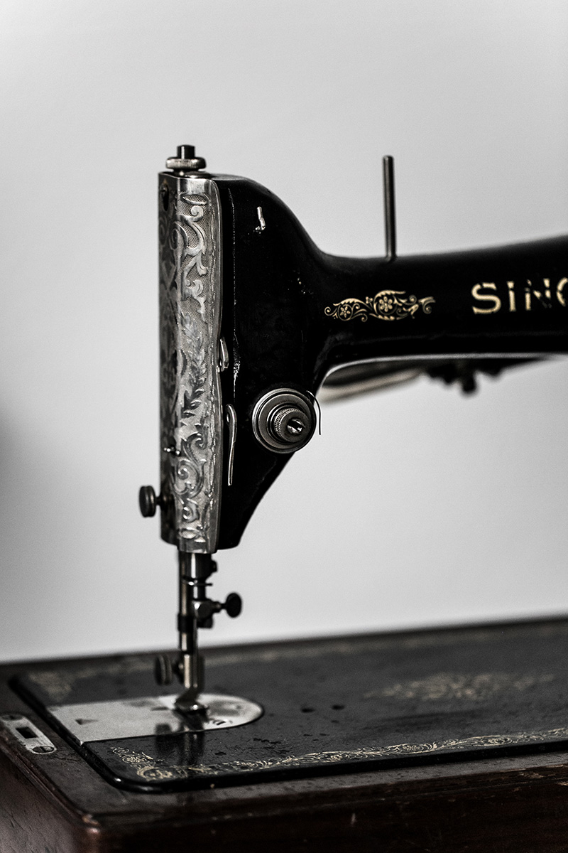black singer sewing machine vintage worry about it later interior blog vienna