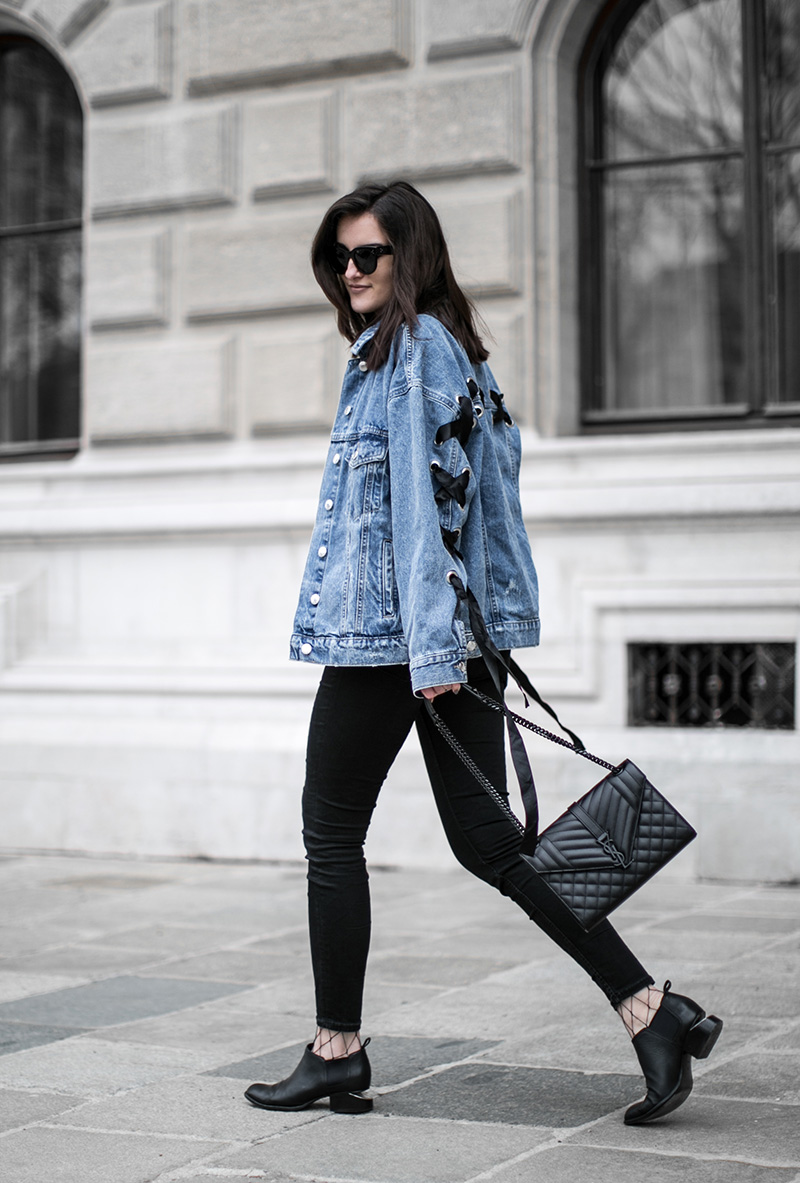 denim jacket with a twist