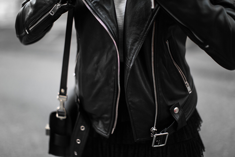 diesel lederjacke worry about it later streetstyle vienna fashionblog