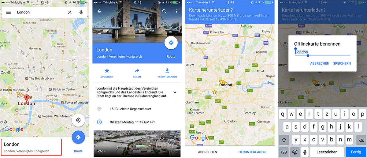 google maps offline verwenden anleitung worry about it later travel blog vienna austria
