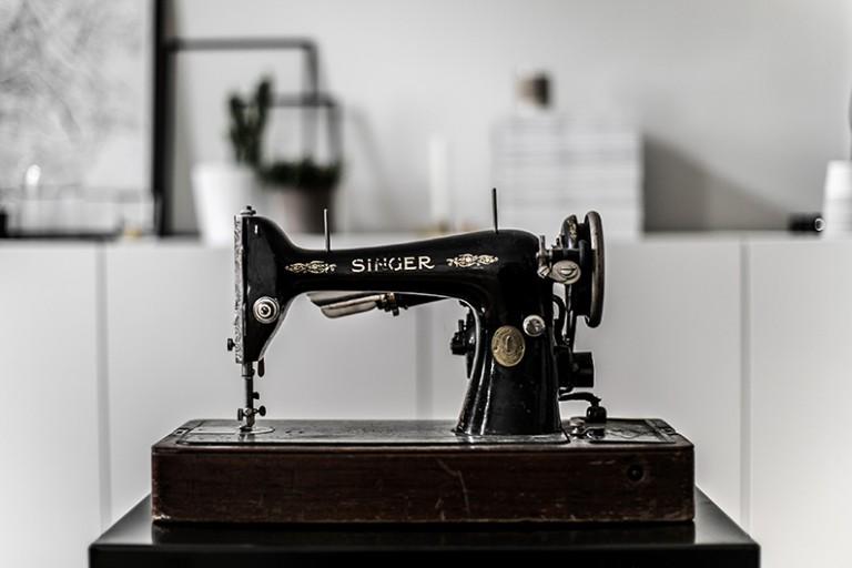 Vintage Singer Nähmaschine