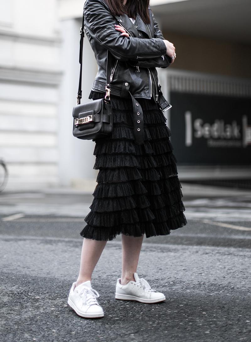 worry about it later fashionblog oesterreich rueschenrock schwarz hm trend