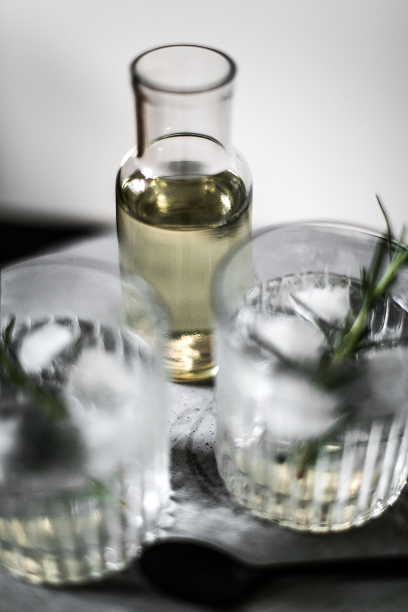 food blog austria worry about it later gin tonic rosmarin sirup selbst gemacht