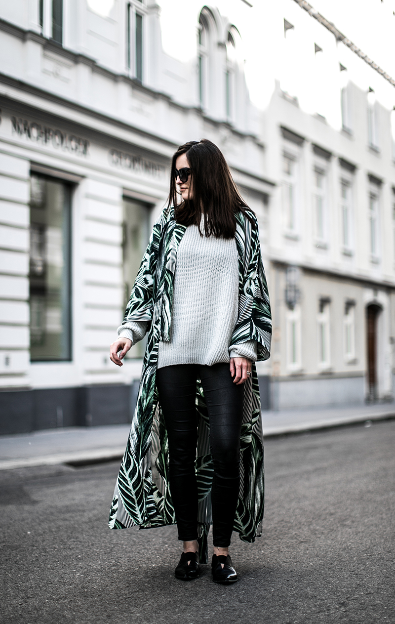weekday kimono gruen worry about it later streetstyle blog wien