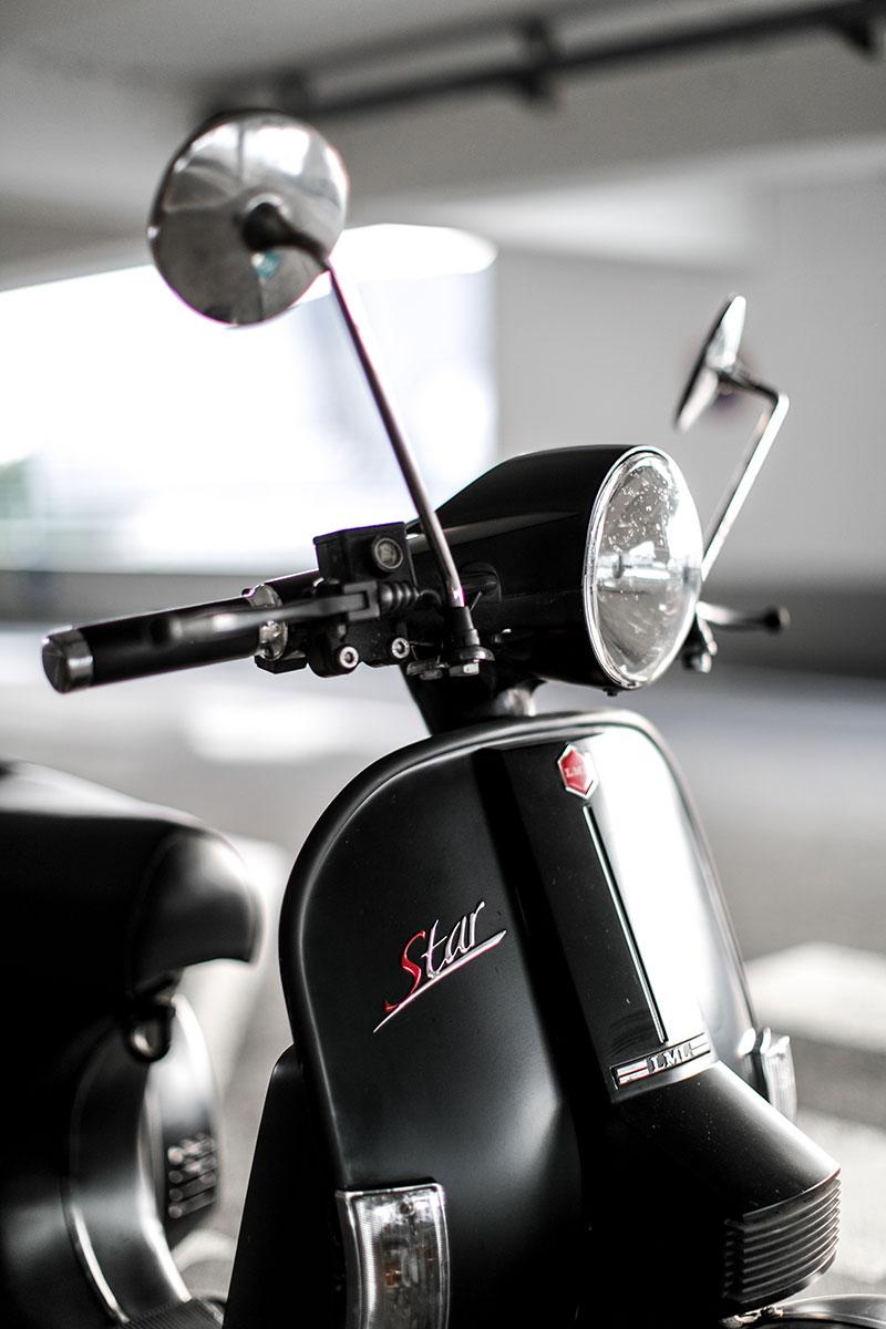rollerkabinett lml star wien schwarz matt moped fuehrerschein worry about it later