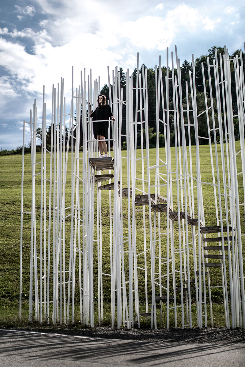 vorarlberg architektur Haltestelle Braenden Sou Fujimoto Japan bushuesle wartehüsle reiseblog worryaboutitlater