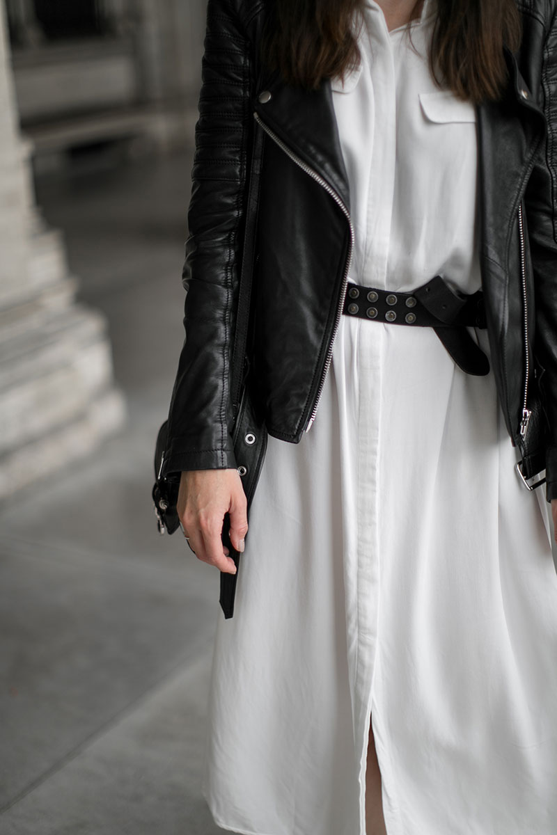 worry about it later white shirt dress selected femme streetstyle vienna ootd