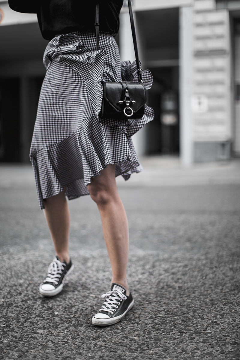 givenchy obsedia crossbody bag gingham skirt nakd worryaboutitlater