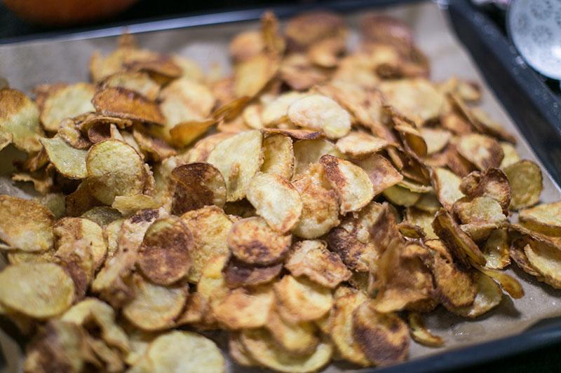 foodblog wien kartoffelchips selbst gemacht worry about it later