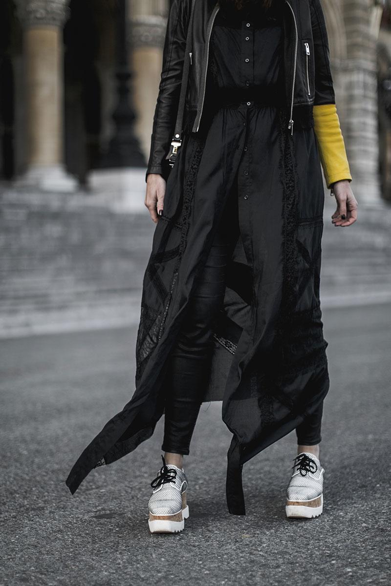 stelly mccartney elyse platforms vegan shoes diesel leather jacket