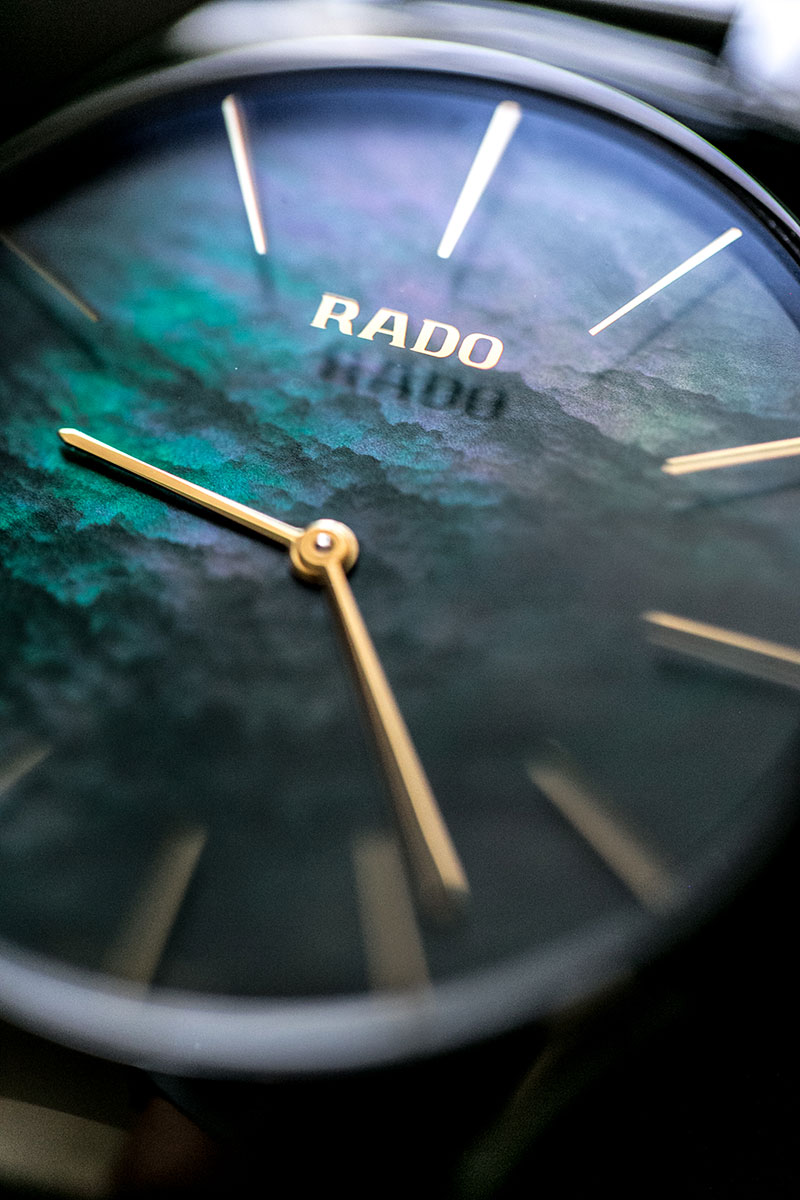 rado true thinline gruen worry about it later