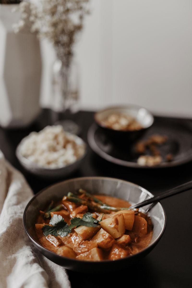 Blue Elephant Massaman Curry und Besuch in der Blue Elephant Kochschule in Bangkok