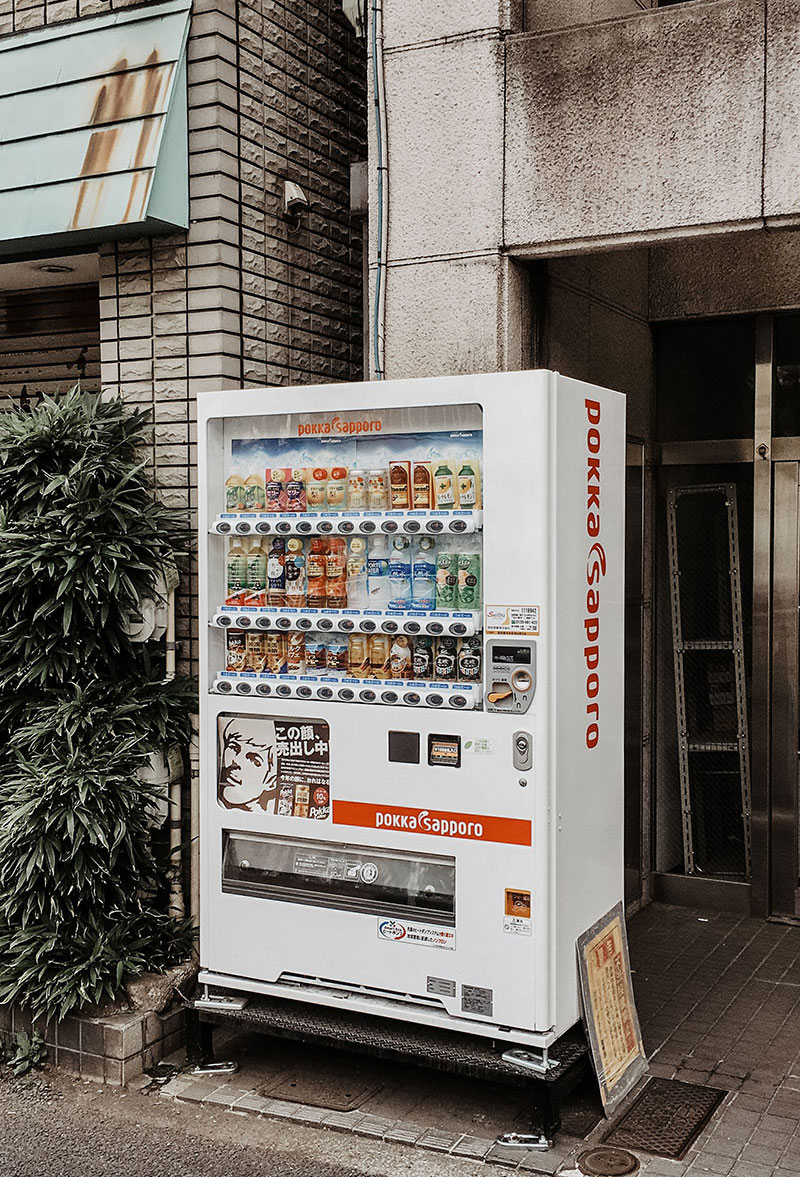 tokio vending machines