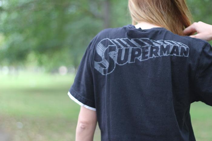 ootd: supergirl