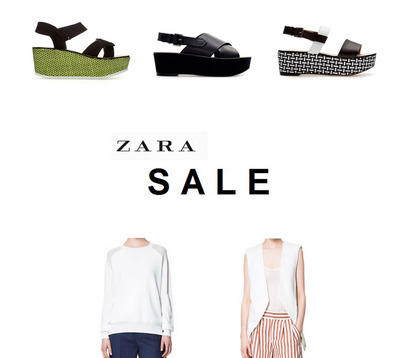zara sale is on