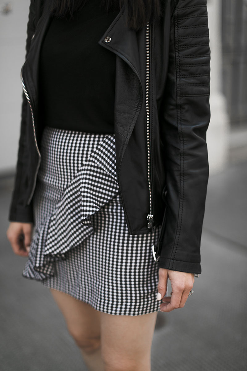 miniskirt gingham worry about it later fashionblog wien