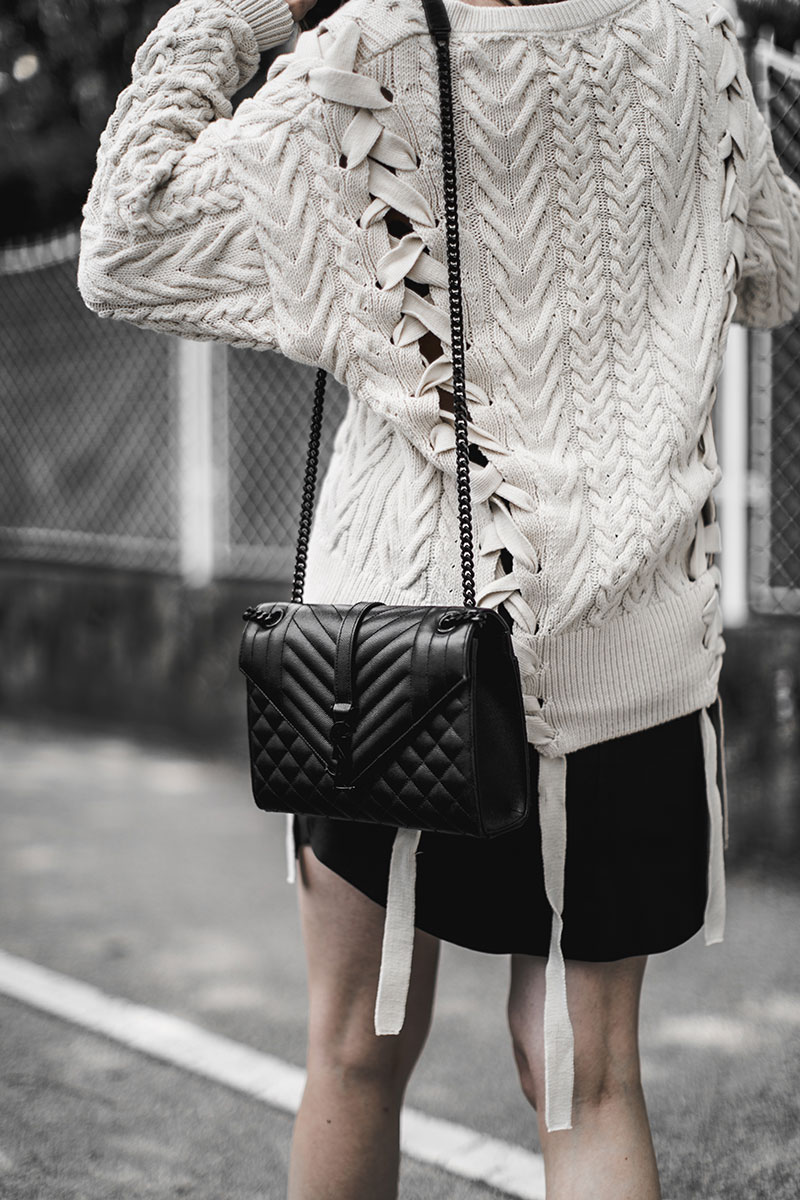 saint laurent crossbody bag worry about it later streetstyle wien