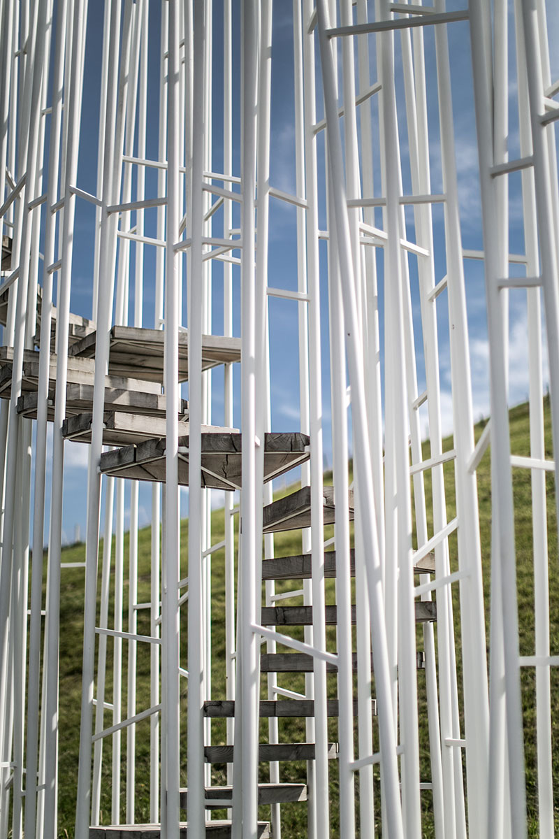 Haltestelle Braenden Sou Fujimoto Japan krumbach vorarlberg architektur worryaboutitlater reiseblog oesterreich wartehüsle