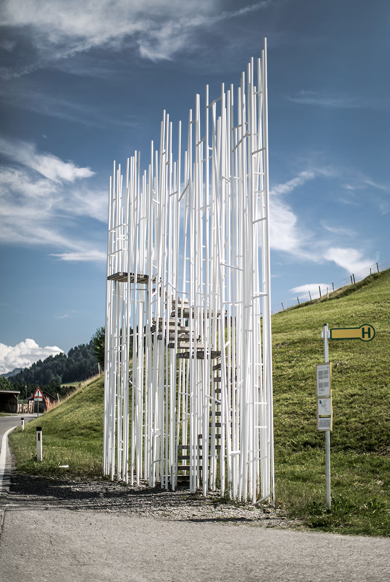 Haltestelle Braenden Sou Fujimoto Japan wartehüsle krumbach worry about it later reiseblog architektur vorarlberg