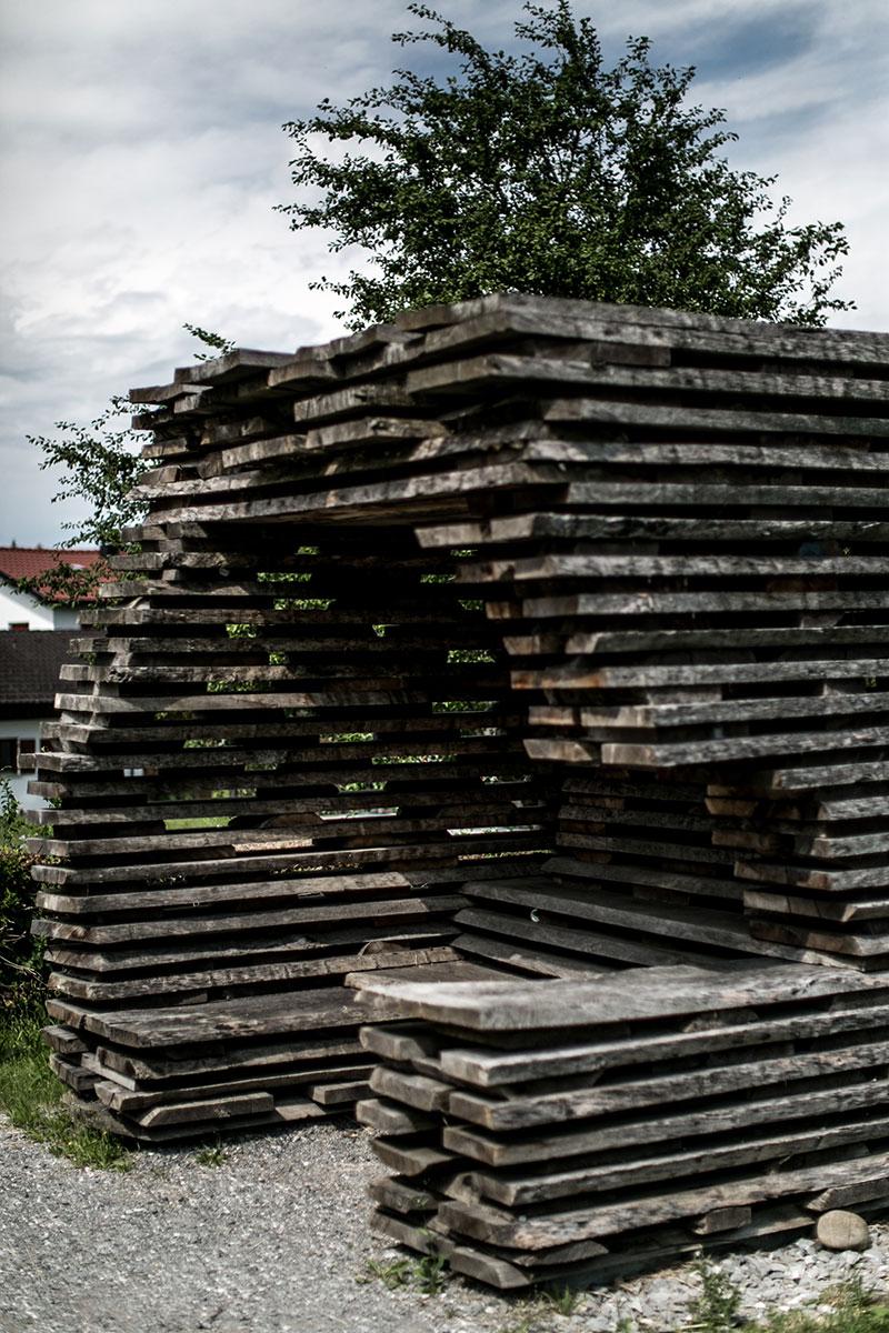 Haltestelle Unterkrumbach Nord Ensamble Studio Spanien krumbach wartehüsle worry about it later vorarlberg architektur
