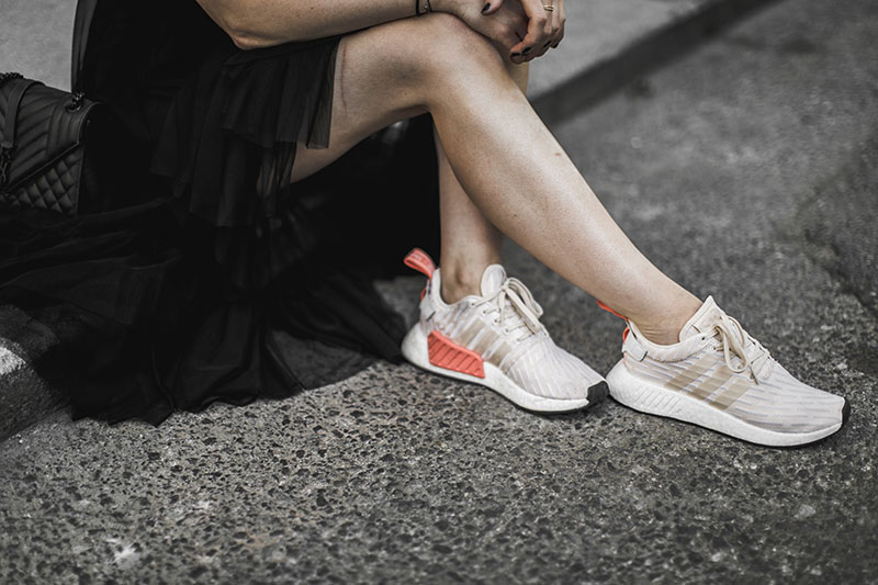nmd adidas footlocker worry about it later streetstyle vienna sheer dress lace