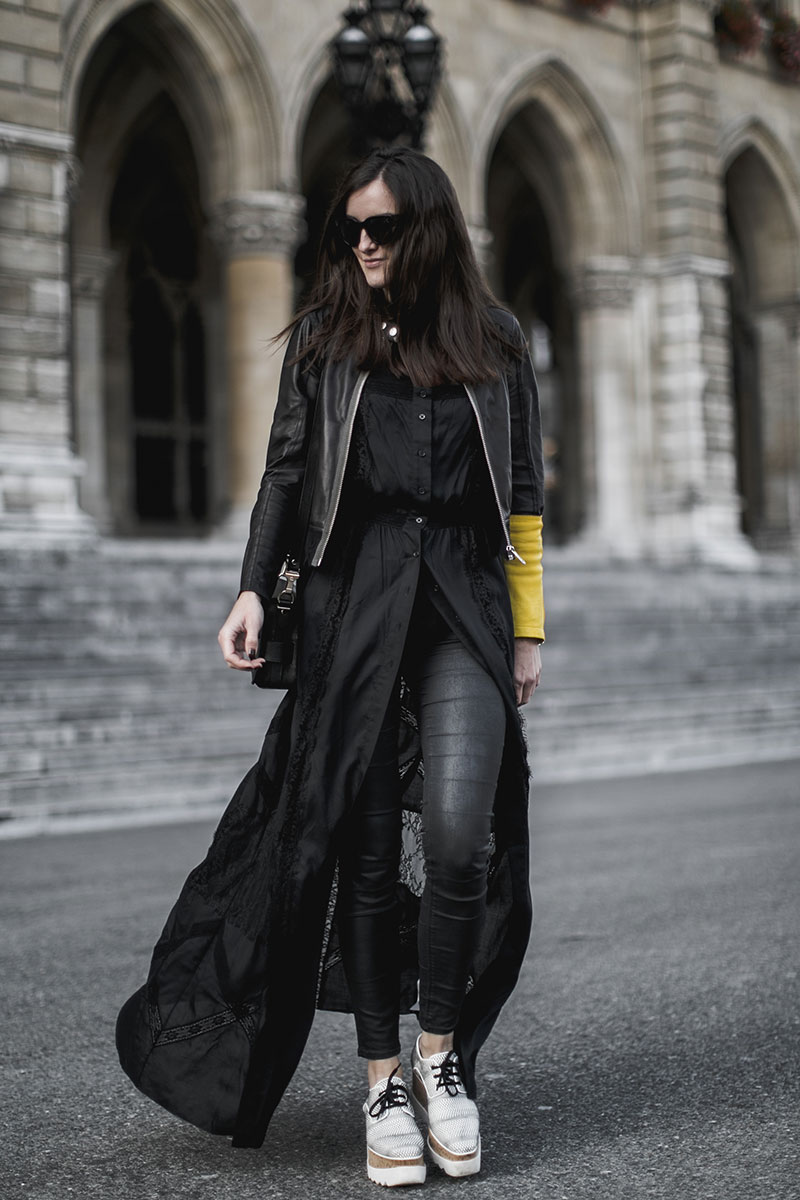 allblack look worry about it later streetstyle vienna ootd diesel spring summer collection