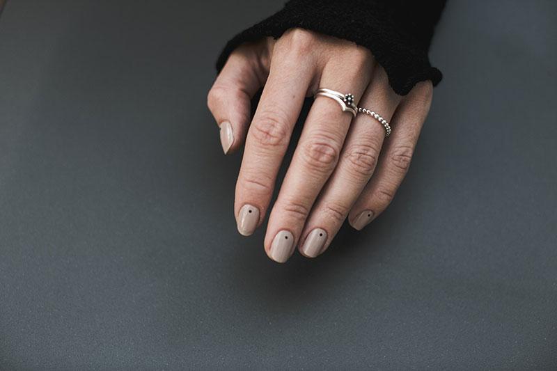 minimalistische manikuere punkte worry about it later beautyblog wien