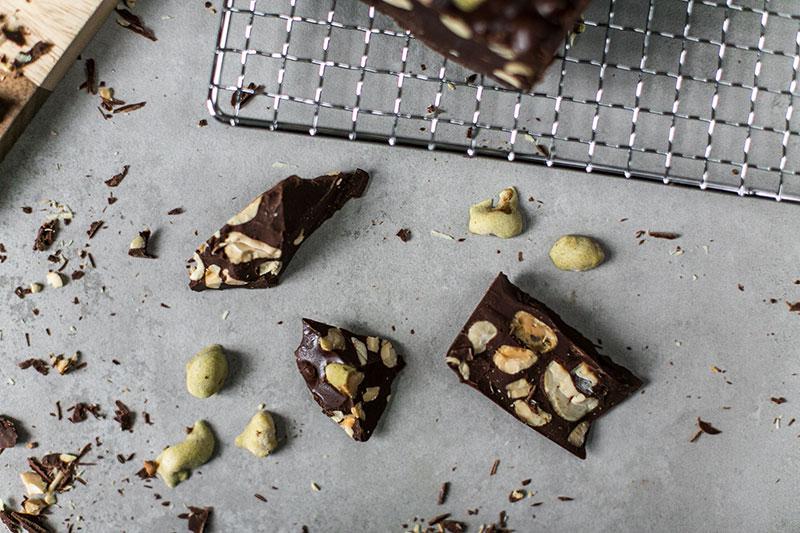 sb wasabi selbst gemachte schokolade worry about it later foodblog wien