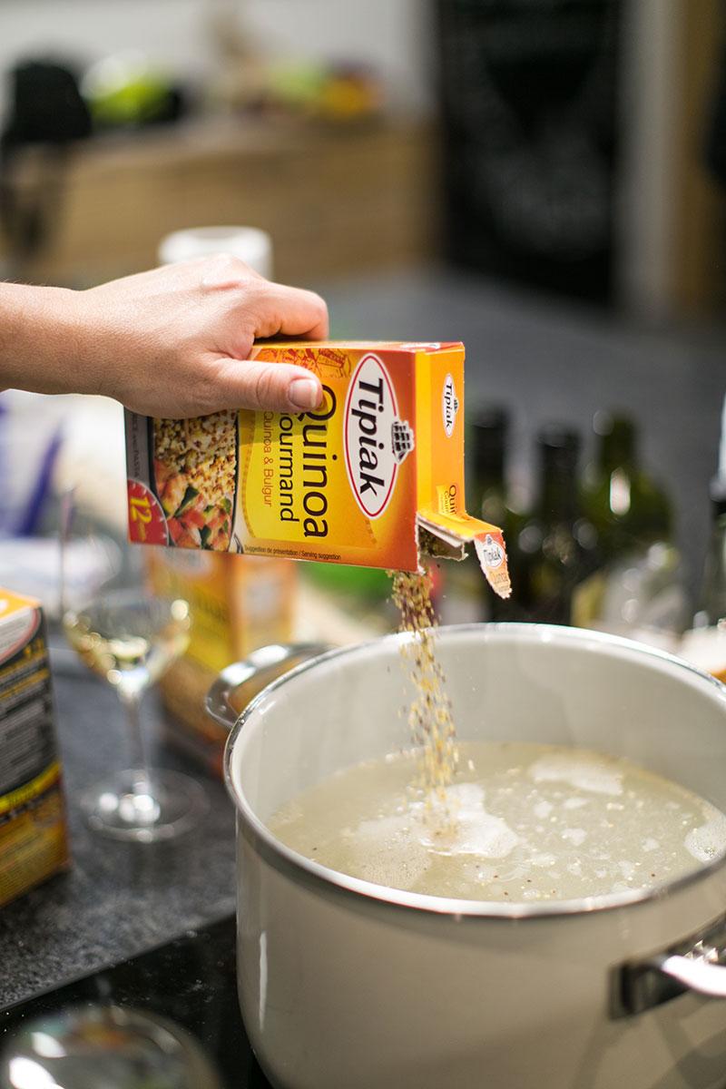 titak quinoa kochkurs gusto kochschule worry about it later foodblog vienna