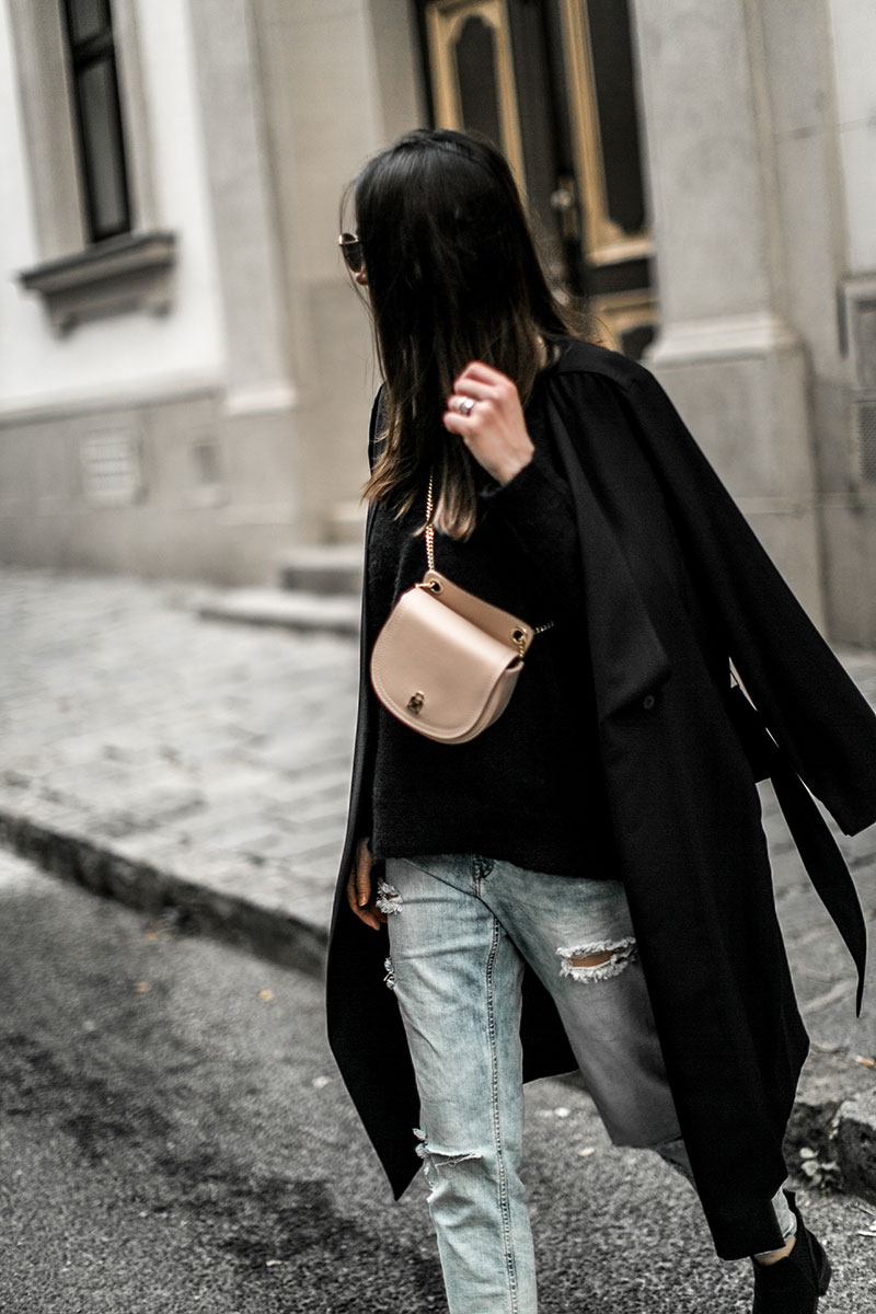 worry about it later patrizia pepe beltbag pink streetstyle vienna