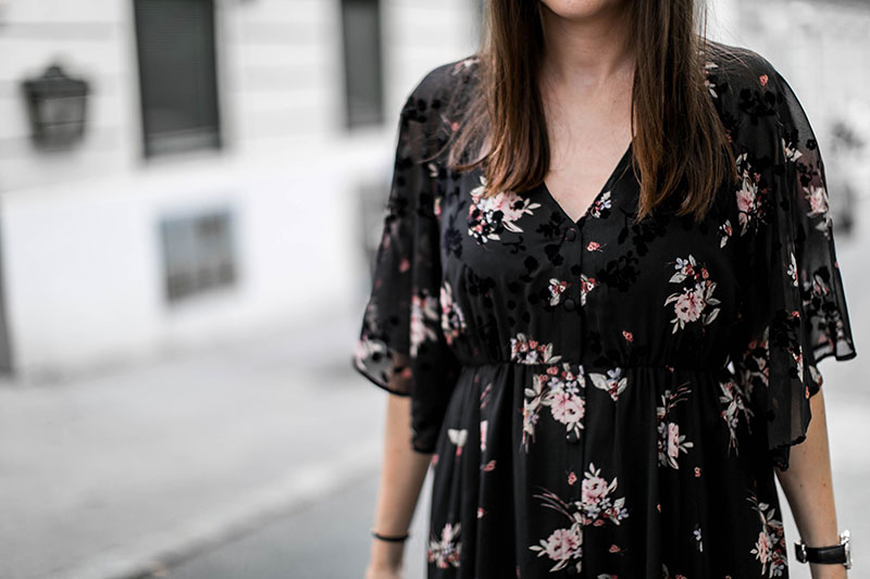 streetstyle vienna worry about it later maxi flowerdress